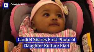Cardi B Shares First Photo of Daughter Kulture Kiari [Video]