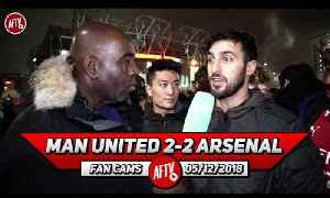 Man United 2-2 Arsenal | Lukaku Doesn't Deliver Against Big Teams! [Video]