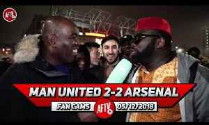 Man United 2-2 Arsenal | Mourinho Sent Them Out To Play Rugby & Butcher Us!! (Kelechi) [Video]