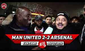 Man United 2-2 Arsenal | Their 2nd Goal Was An Absolute Joke!! Mistakes Cost Us! (Troopz) [Video]