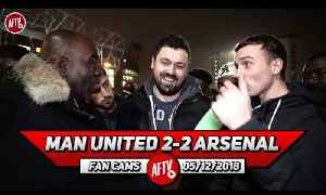 Man United 2-2 Arsenal | Mourinho Has To Go He's A Dinosaur! (Man United Fans) [Video]