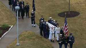 Final farewell to former President George H.W. Bush [Video]