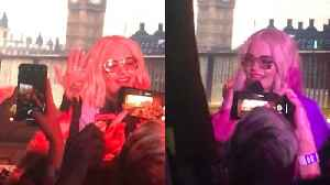 Rita Ora Takes Fans to London During Surprise Spotify Performance In L.A. [Video]