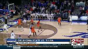 Tulsa Basketball defeats Oklahoma State, 74-71 behind 20 points from Daquan Jeffries [Video]