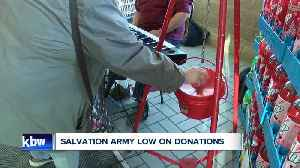 Salvation Army Red Kettle Campaign off to a slow start this holiday season [Video]
