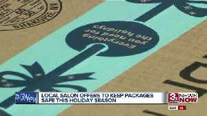 Moxie Salon and Spa receiving between 20 and 30 packages this holiday season for community members [Video]