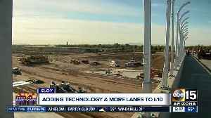 ADOT making moves on I-10 to widen freeway, add dust detection system [Video]