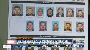 Clark County DA says community is safer after arrests of 29 alleged gang members [Video]