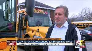 Covington schools looking for bus drivers [Video]