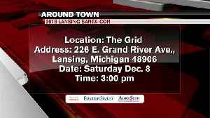 Around Town 12/6/18: 2018 Lansing Santa-Con [Video]