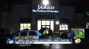 Armed men sought in Mission Valley jewelry store robbery [Video]