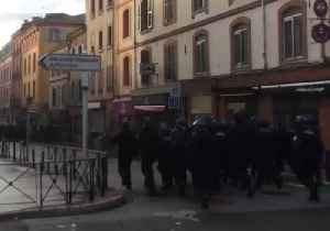 Security Forces Confront Protesters in Southern France [Video]