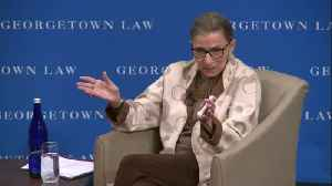 Justice Ruth Bader Ginsburg wants only women on the Supreme Court [Video]