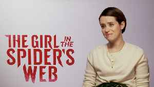 Claire Foy & Fede Alvarez on 'Spider's Web' [Video]