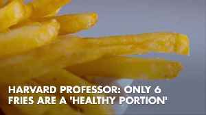 How Many Fries Can You Eat Before They Are Unhealthy [Video]