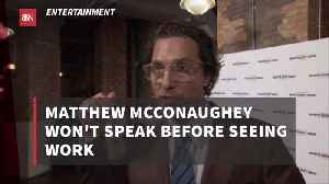 Matthew McConaughey Has His Own Movie Reviews [Video]