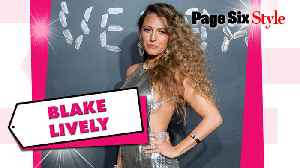 Blake Lively's vintage Versace chainmail dress costs $88K [Video]