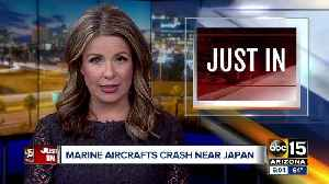 News video: Marine aircrafts crash near Japan