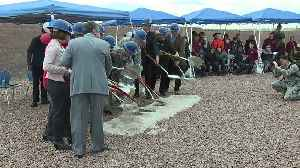 Nellis Air Force Base breaks ground on new school [Video]