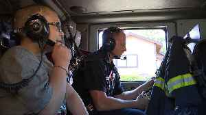 Boy Gets to Ride Along with First Responders Ahead of Heart Surgery [Video]