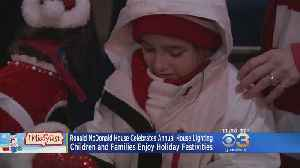 Ronald McDonald House Celebrates Annual House Lighting [Video]