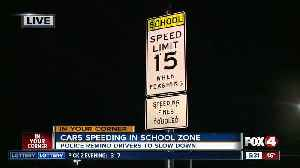 New speed limit signs to remind driver to slow down in school zone [Video]