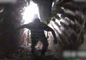 News video: Hezbollah Operative Caught on Camera in 'Attack Tunnel' to Israel, Claims IDF