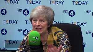 News video: Theresa May assures Northern Ireland that she has a plan