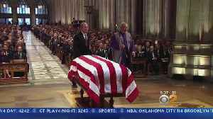 George H.W. Bush To Be Laid To Rest [Video]