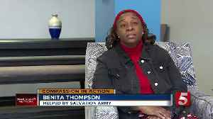 Compassion In Action: Woman no longer homeless thanks to Salvation Army [Video]