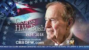 Texas Funeral And Burial Gives George H.W. Bush A Final Farewell [Video]