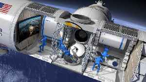 First ever luxury space hotel [Video]