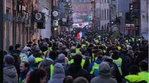 France's CGT Union Extends Energy Strike In Support Of 'Yellow-Vest' Movement [Video]
