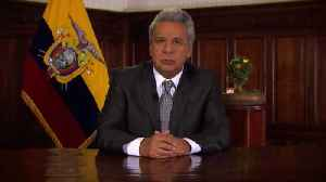 News video: Report: Assange Has 'Sufficient Guarantees' From UK Government To Leave Embassy, Says Ecuador's Lenin Moreno