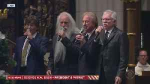 The Oak Ridge Boys Perform 'Amazing Grace' At GHWB Funeral [Video]