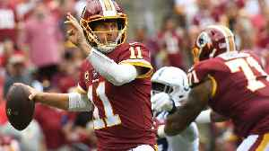 Report: Redskins QB Alex Smith Battling Infection From Surgery [Video]