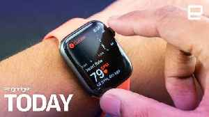 Apple Watch 4's ECG feature is rolling out today | Engadget Today [Video]