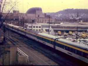 President Eisenhower's funeral train stops a Union Terminal in 1969 [Video]