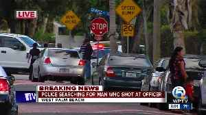 Police: Man shot at West Palm officer [Video]