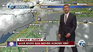 Andy Parker gives a forecast update for your evening commute [Video]
