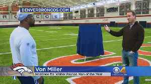 Peyton Manning Surprises Von Miller [Video]