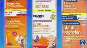 Recall Issued For Infant Ibuprofen Sold At CVS, Walmart And Family Dollar [Video]
