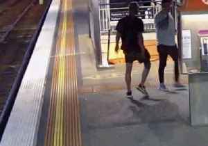 Man 'Coward' Punches Complete Stranger at Richmond Station [Video]
