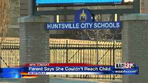 Parent upset she couldn't reach child at school [Video]