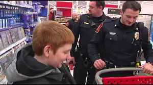 VIDEO South Whitehall cops help kids shop for Christmas [Video]