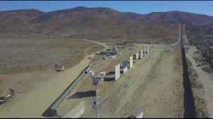 Berks commissioner visits prototypes of proposed border wall