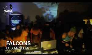 Falcons live in the Boiler Room Los Angeles [Video]