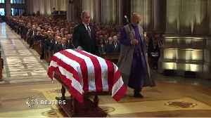 The Burial Of President George H.W. Bush [Video]
