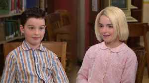 'Young Sheldon': Watch Iain Armitage and Mckenna Grace Interview Each Other! (Exclusive) [Video]