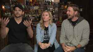 'The Ranch': Ashton Kutcher and Dax Shepard Give a Tour of the Set! (Exclusive) [Video]
